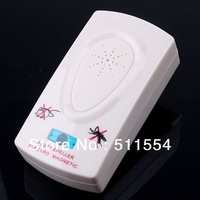 Free Express Shipping 100pcs/lot  Electronic Ultrasonic Helminthes Machine Pest Mosquito Repellent
