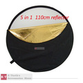 wholesales  for 110cm 5 in 1  Collapsible Multi Disc Light Reflector Panel&amp;Photographic Studio Board