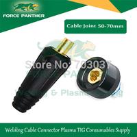 2014 Top seller +Brand New 400Amp Black welding cable connector tig welder plug 50-70MM tig welder parts