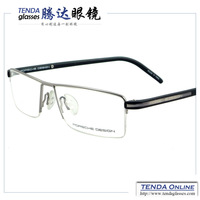 Metal Half Rim Branded Fashion Glasses Men Eyewear Prescription Spectacles Eyeglasses Myopia & Reading