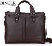 Wholesale 2012 New genuine leather men bag,fashion men leather handbag,men leather briefcase