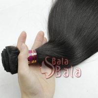 "brazilian straight hair 12""-28"" virgin human hair extensions 1pc/lot ,3.5OZ/piece free shipping"