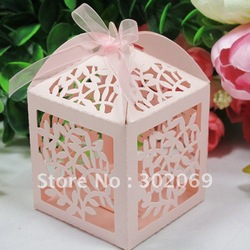 Wholesale and Retail Leaves Favor boxes, Gift boxes, wedding boxes 120pcs/lot(China (Mainland))