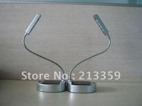 Free Shipping for Solar Powered 4-LED Table Lamp/LED Desk Light/LED Reading Light Hot! Hot!