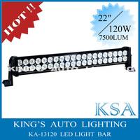 Free Shipping !!!! 120W led light bar, mining light bar 4x4 ,12V / 9-32V 24'' led off-road light bar