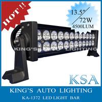 16 inch,72W led light bar, mining light bar 4x4 accessories , off road light bar