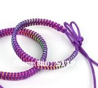 Mixed Colours Woven friendship ethnic handmade bracelets 60pcs/lot