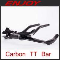 Aero carbon tt bike handle bars, Time trial handle bar, TT bar, 40cm width, 3k/UD