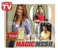 Free DHL Shiping 60pcs/lots Magic Mesh AS Seen On TV Screen Door