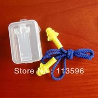 Freeshipping  Hongsheng  27db silicone Ear Protection Anti-noise 3-layer Earplug   3F-2