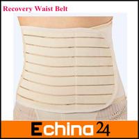 Ivory Postpartum Recovery Belt Pregnancy Girdle Tummy Band Slim Slimming Belly L# Free Shipping