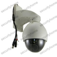 "Mini 4"" PTZ Dome Camera 3X Optional ZOOM 420TVL Sony CCD 4-9mm Outdoor Waterproof Camera"