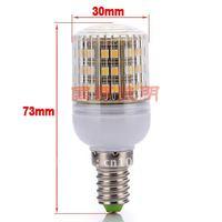 10X Wholesale New E14 48 SMD LED Spot Light Spotlight 200V-240v Warm White Effective Bulb