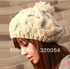 Free shipping,1pcs,2012 new Korean version of the pumpkin hat hand-knitted hats autumn and winter Wool cap,Warm hat,Multicolor