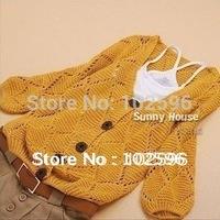 Free Shipping New Arrival Women's Autumn Cardigan Sweater,5 Colors  Li12002