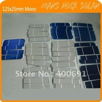 500pcs 125* 25mm (5x1'')  Monocrystalline Solar Cell for DIY solar panel---Grade A quality with 100% free shipping