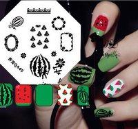 New!!Nail Art Stamp Stamping Image Template Plate  watermelon series  QA50  Nail Polish