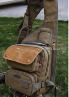 MULTIFUNCTION men's strang canvas army style shoulder bag Travel tactical backpacks military_M178