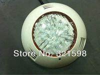 RGB 54W led swimming pool light, PC underwater lamp, IP68 waterproof, high power, 280*67mm