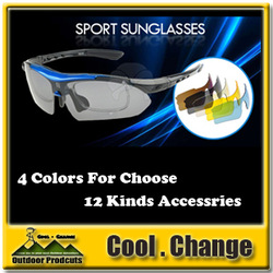 Best Price 0089 Cycling Bicycle Bike Outdoor Sports Sun Glasses Eyewear Sunglasses 5 color lens With Polarized Choose 0 logo(China (Mainland))