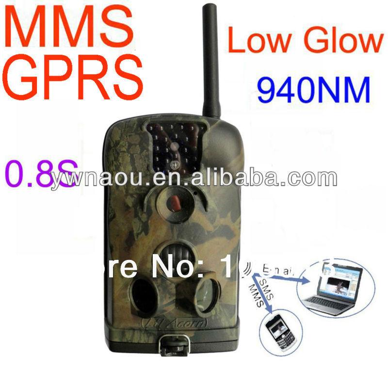 Ltl acorn 6210MG 940nm Low-glow 12MP 1080P HD video MMS infrared scouting trail camera GSM/GPRS hunting camera external antenna(China (Mainland))