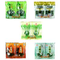 Promotion! Organic 5bags Green Tea Combination Slimly Tea,Maojian +Longjing+YuQian Green Tea+Tieguanyin+Biluochun,Free Shipping