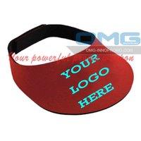 Free Shipping! LOGO Printing REAL Neoprene Sun Caps, Sun Visors,Baseball/Softball Visors