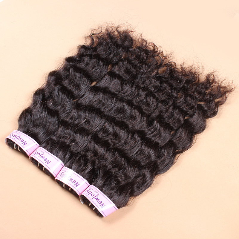 Brazilian virgin hair high quality human wigs unprocessed natural wave brazilian hair 4pcs/lot 12-28 inch available(China (Mainland))