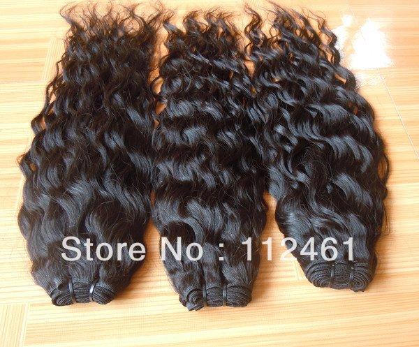 """14"""" Remy девственницы индийские/бразильские/перуанские волосы вьющиеся"""