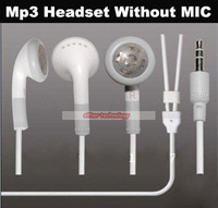 Wholesale Free Shiping Headphones For iPhone iPod Without Mic In Ear Earphone Headset 500PCS/lot