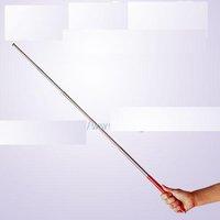 Free shipping-Stainless steel telescopic pointer pen, retractable pen, antenna pen, 6, 88 cm, flagpole