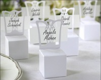 White Chair favor Box Place Card Holder 50PCS/LOT wedding favor box Free shipping