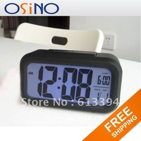Large Simple Cube Snooze LED Digital Desk Alarm Clock Free Shipping