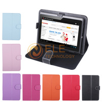 "PU Leather Case Cover for 7"" Tablet PC MID 7inch Tablet Stand Case tablet universal case"