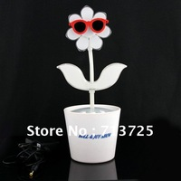 Free shipping 3.5MM Dancing Flower Speaker for Computer Notebook MP3
