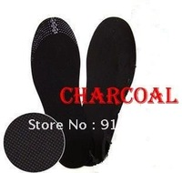 Free shipping 10pcs/lot Clean Health Deodorant Insoles Shoe Comfort Pads  Charcoal insoles
