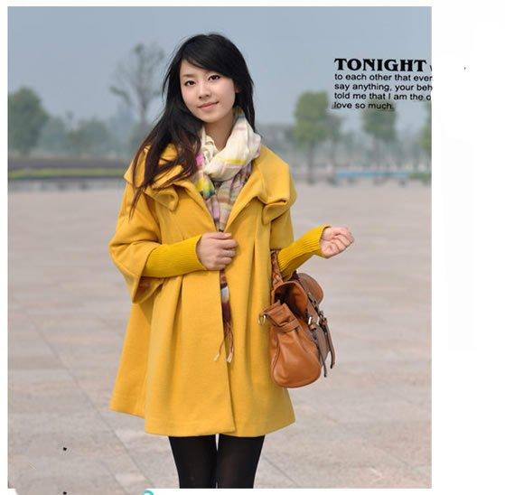 Women-Wool-Jacket-Ladies-Overcoat-Winter-Outerwear-Ponchos