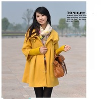 Women Wool Jacket Ladies Overcoat Winter Outerwear Ponchos Coat Capes Shawl Jacket Fashion Garments