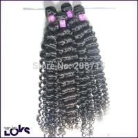 6A Kinky Curly Peruvian Virgin Hair Weft 3.5oz/pc 4pcs/lot Natural Hair Free Shipping Wholesale Raw Human Hair Weaving