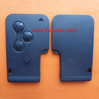 For Renault Megane 3 Button Remote Key Blank With Logo