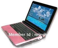Wholesale - Mini S30 10.2 inch Laptop PC Intel Atom D2500 1.8GHz Win7 OS 1G DDR2 160G WiFi Laptops Computer