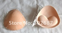 500pairs/lot-Women's bra pads,Triangle self-adhesive Sponge breast pad,Self-stick Bra inserts,enhancer pad free shipping