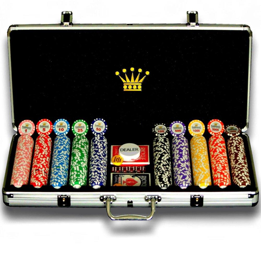 500pcs poker chip set india