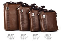 Men's leather man bag  Messenger bag cowhide genuine business and leisure package, free shipping