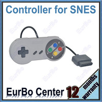 Classic Colorful Button Style Game Controller for Super Nintendo Gamepad for SNES (EW027)