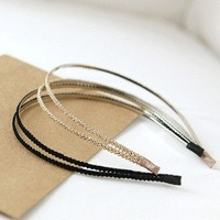 Free shipping, Trendy exquisite handmade knitted hairband, Fashion women's headwear, New arrival