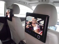Car Headrest MP5 Player with 9 inch HD Digital screen built-in FM/IR function and Games,SD,USB function