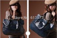 2014 Casual     Stone Pattern Ladies' Paint big Shoulder Bags Handbag women Bag