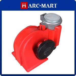 Horn Snail Compact Air Horn Car Vehicle Yacht Boat Motorcycle Bike RV Airhorn Red #ST137(China (Mainland))