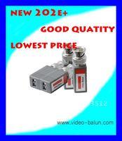 1 Channel Straight Mini UTP Passive CCTV Video Balun